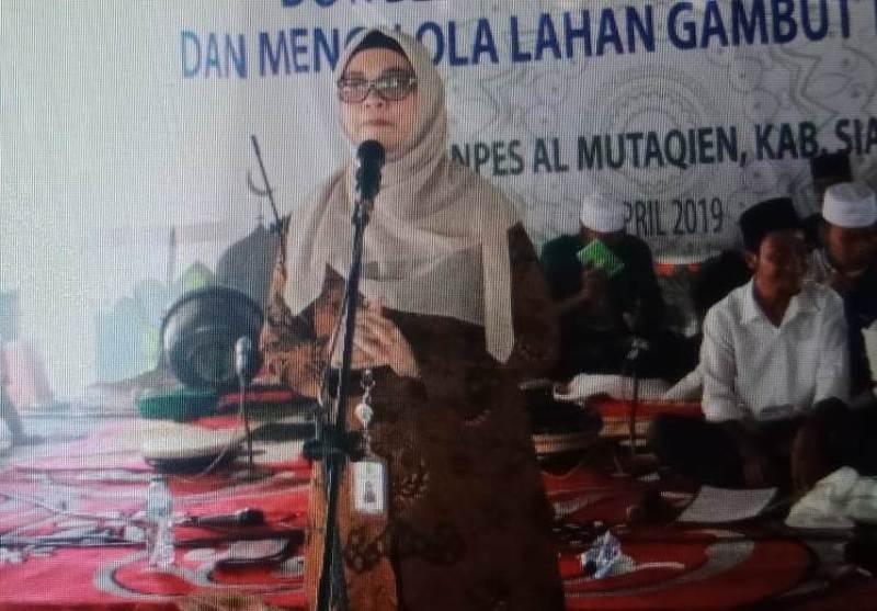 Masyarakat Riau Diminta Kembalikan Kesehatan Gambut