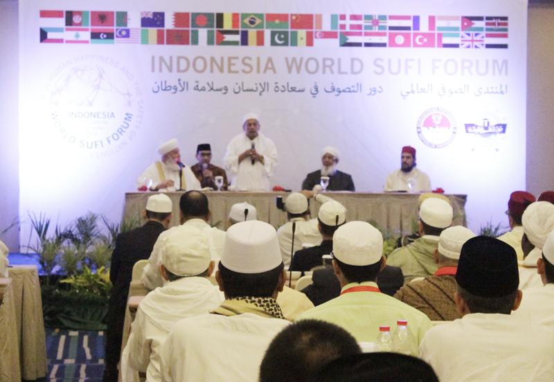 Habib Luthfi Dipilih sebagai Pemimpin Forum Sufi Dunia