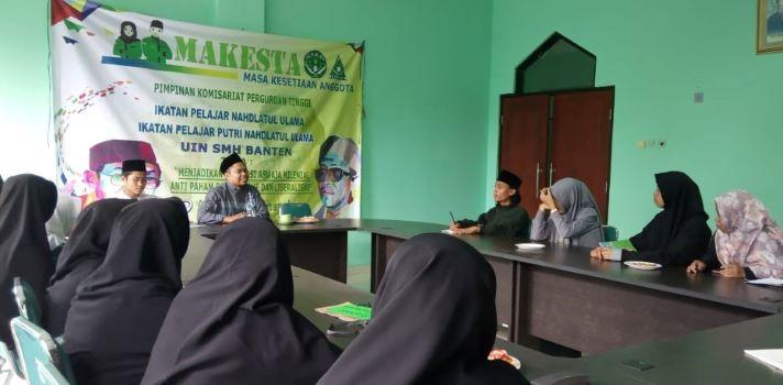 Milenial NU Banten Ikuti Pemantapan Aswaja