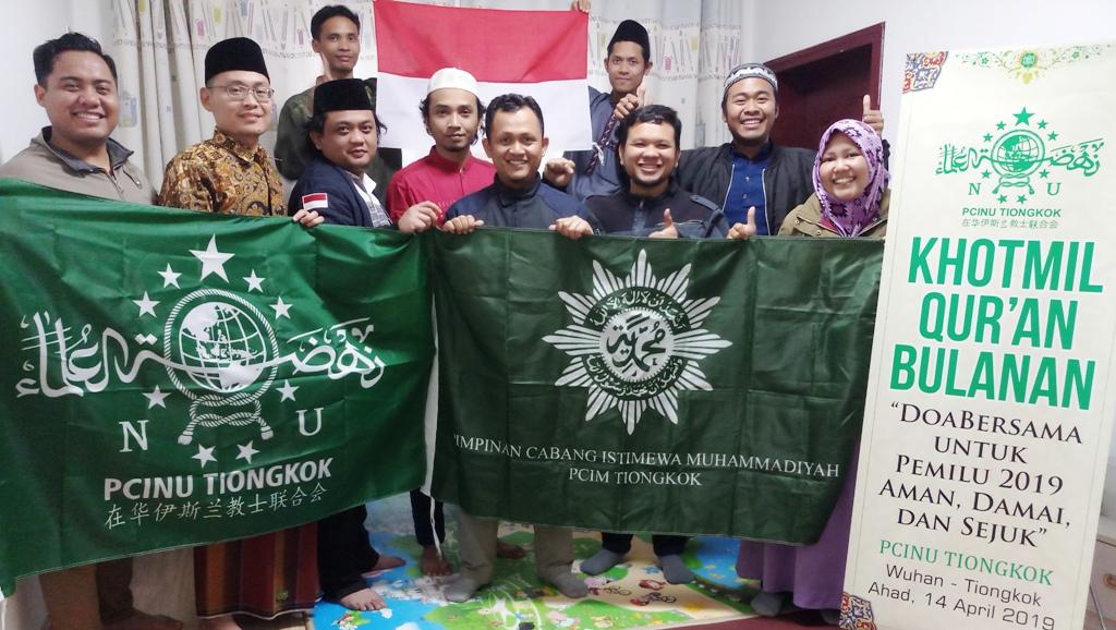Warga NU dan Muhammadiyah Tiongkok Siap Sukseskan Pemilu