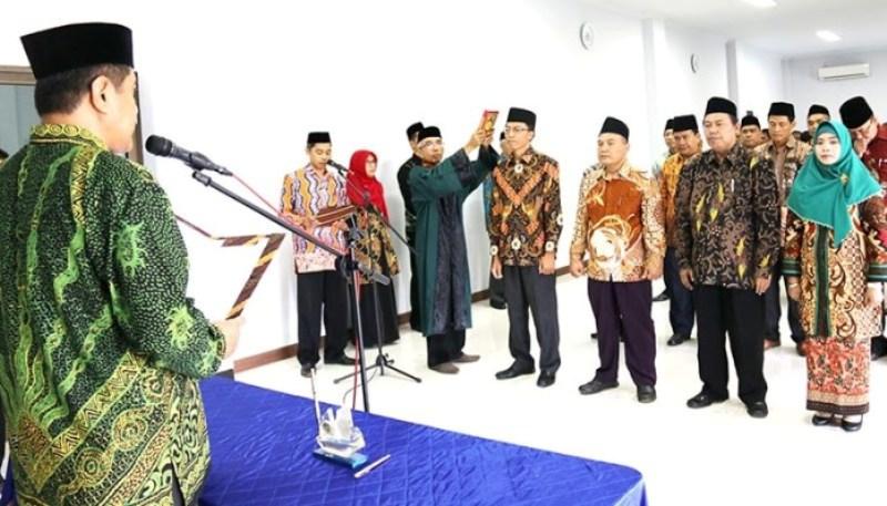 Perkuat Islam Nusantara, Rektor IAIN Jember  Bentuk Kabinet Kerja