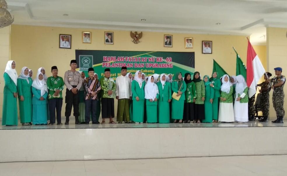 PC Fatayat NU Lampung Timur Resmi Dilantik