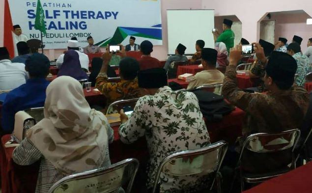 LAZISNU Latih Guru NTB 'Self-Therapy Healing'