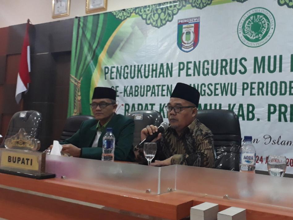 Ketua MUI Lampung: Tidak Ada Lagi 01, 02, yang Ada 03 Persatuan Indonesia