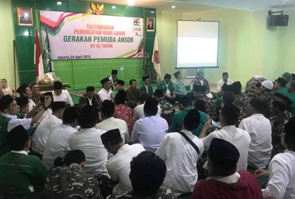 GP Ansor: Jadikan Harlah Ke-85 Momentum Rekonsiliasi Nasional Setelah Pemilu