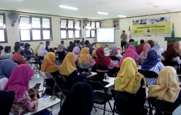 Pentingnya Akuntansi Forensik Dibahas di UNU Yogyakarta