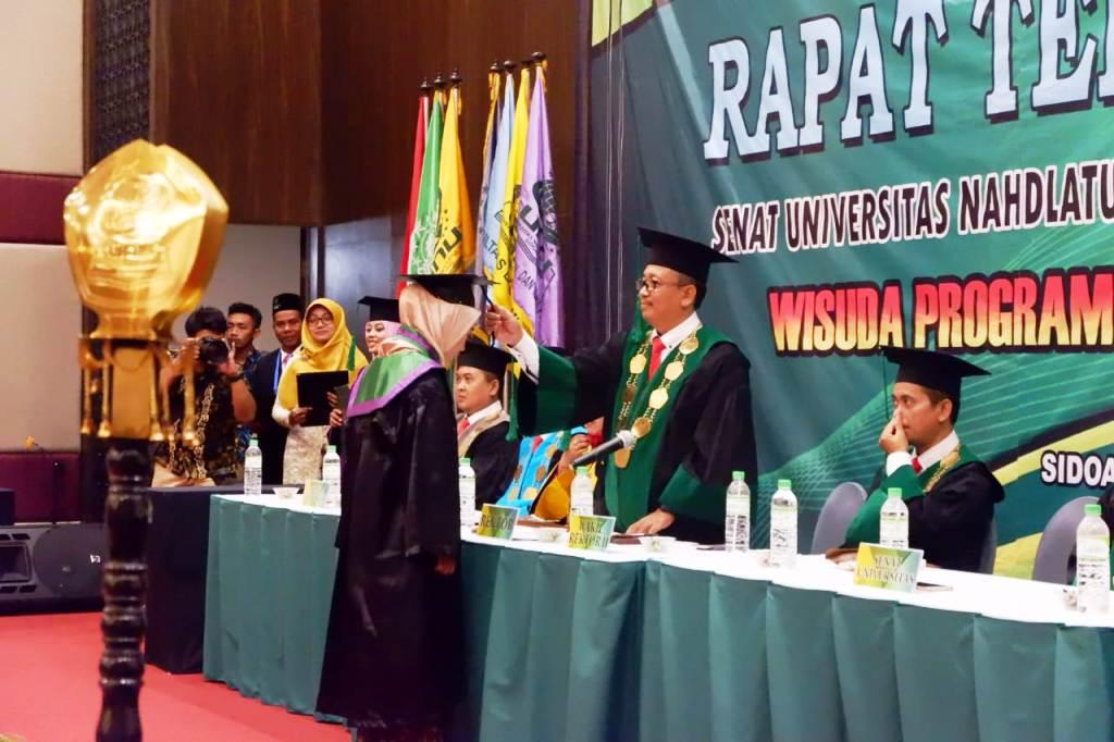 Unusida Gelar Wisuda Perdana, Mayoritas Lulusan Diterima Kerja