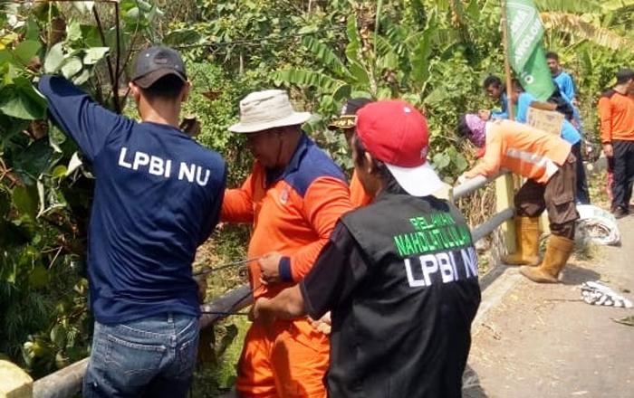 Antisipasi Bencana, LPBINU dan Relawan Jombang Soroti Ini