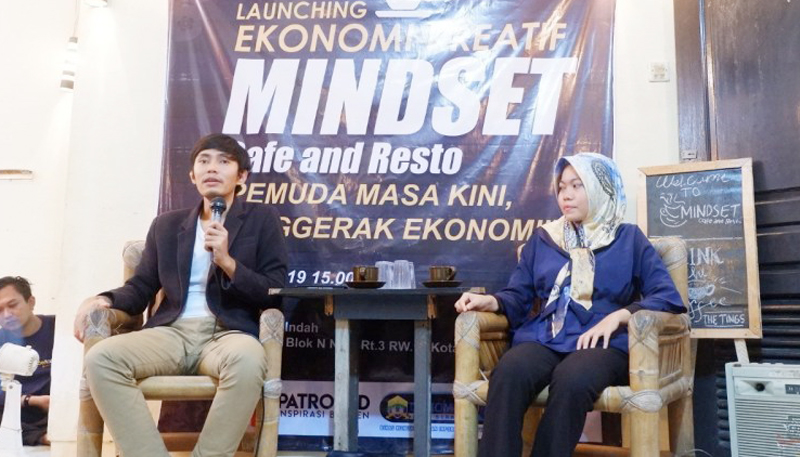 Mindset Cafe, Wadah Berwirausaha Kader PMII Kota Serang
