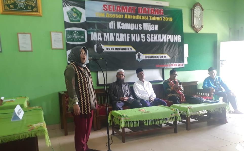 Elemen Madrasah Harus Mengakreditasi Diri Sebelum Diakreditasi