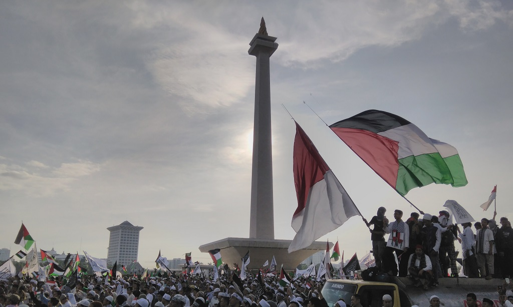 Palestina setelah Dibombardir Israel Menjelang Ramadhan Kemarin
