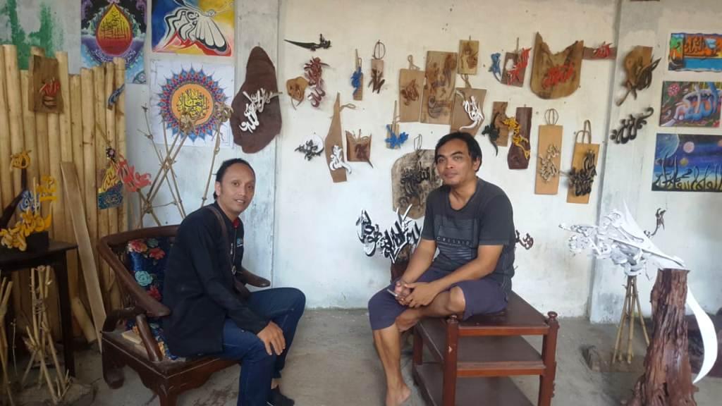 Merengkuh Berkah dari Kampung Kaligrafi di Bondowoso