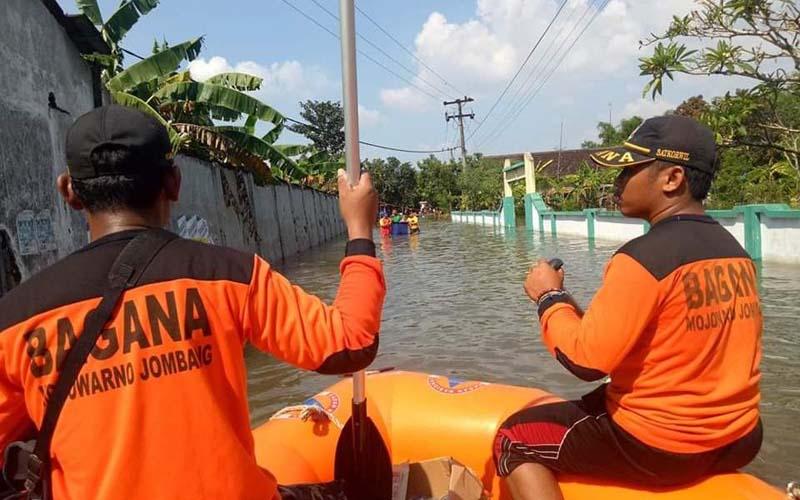 Banjir di Jombang Jadi Perhatian Serius Bagana