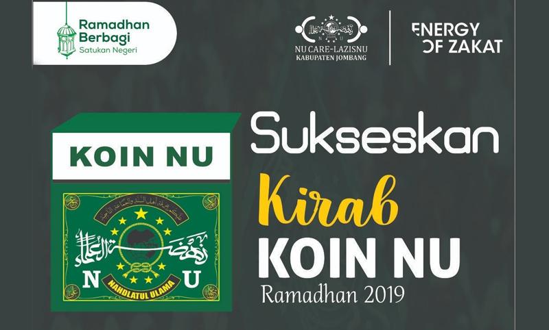 Selama Sepekan, LAZISNU Jombang Gelar Kirab Koin Ramadhan