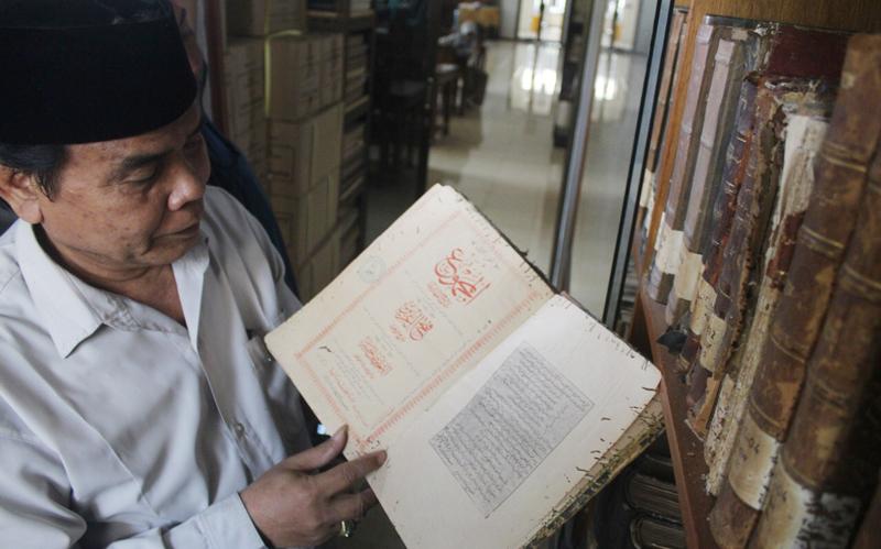 Kitab Tulisan Tangan Mbah Hasyim jadi Rujukan Akademisi