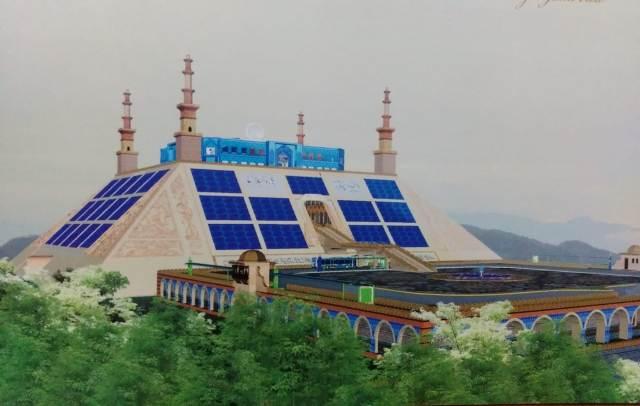 Taman Miniatur 99 Masjid Dunia Bakal Berdiri Megah di Bogor