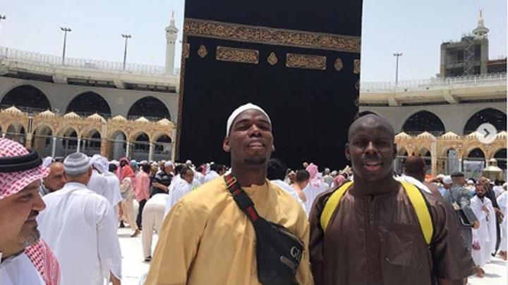 Laksanakan Umrah di Bulan Ramadhan, Ini Pesan Paul Pogba