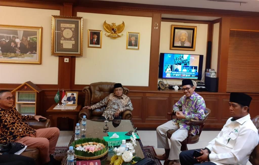 PWNU Riau Terima Hibah dari Umat Budha, PBNU: Untuk Kemaslahatan Umat