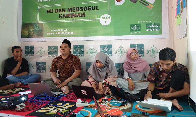 Lakpesdam NU Mataram Ajak Jadikan Medsos Media Dakwah Strategis