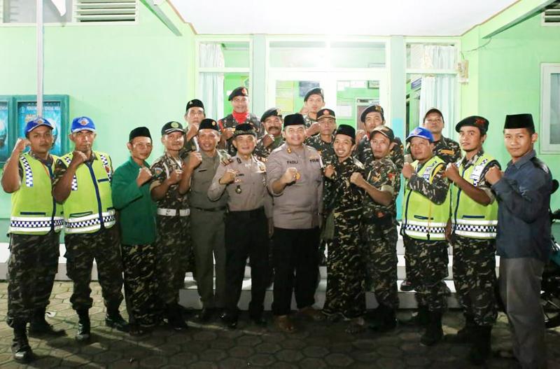 Kapolres Jombang Minta Masyarakat Sabar Tunggu Pengumuman KPU