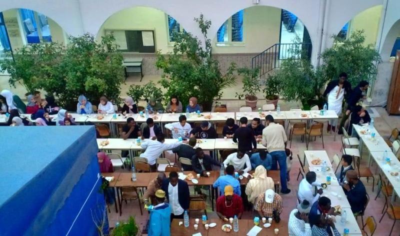 Buka Puasa Bersama Pertama di Universitas Zaitunah Tunisia