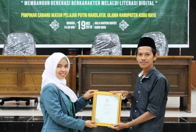 IPPNU Kubu Raya Ajak Pelajar Mengenal Literasi Digital