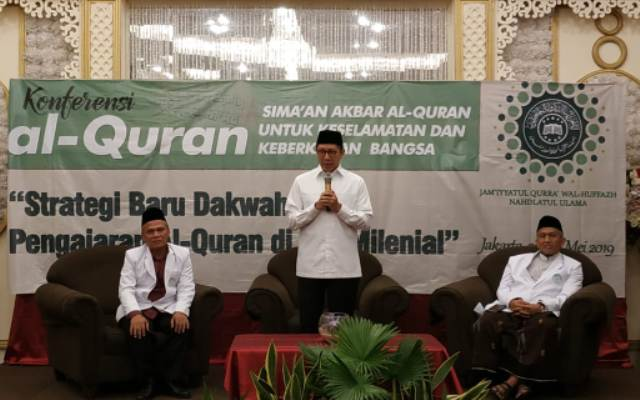 Empat Pesan Menteri Agama untuk Konferensi Al-Qur'an JQHNU