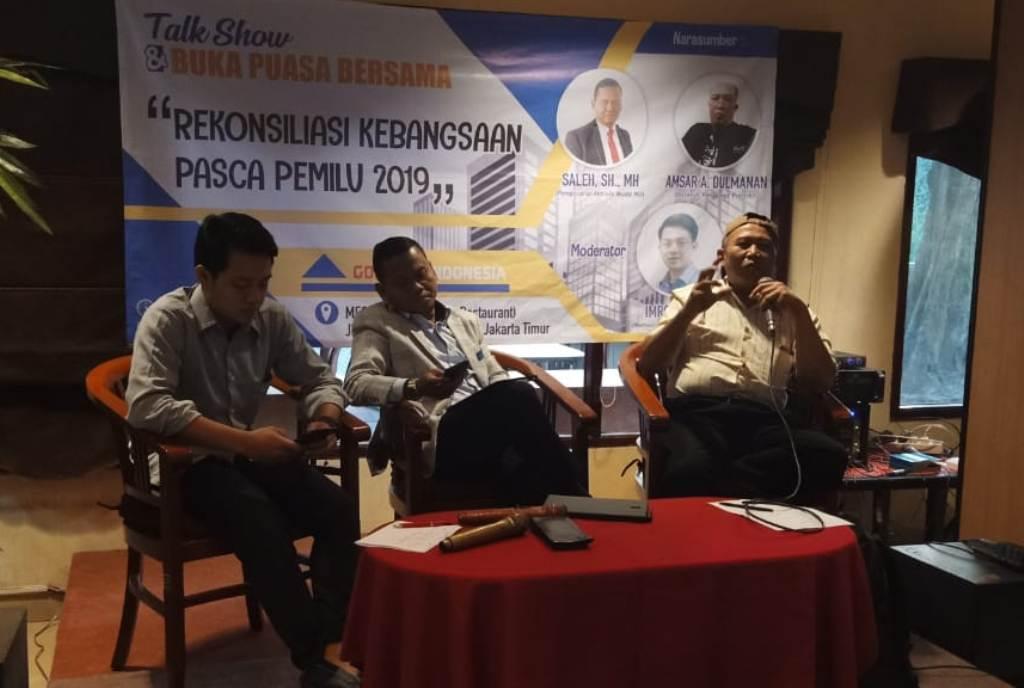FK-GMNU: Rekonsiliasi Kebangsaan Perlu Disuarakan