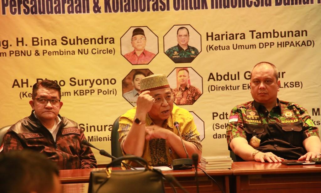 KBPP-Hipakad Kritik Ormas Pemecah Belah Persatuan Akibat Pemilu 2019