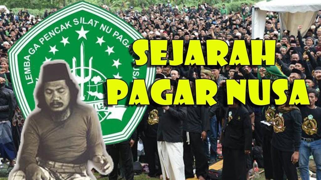 Sejarah Pencak Silat Nahdlatul Ulama Pagar  Nusa