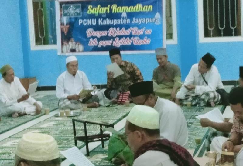 PCNU Jayapura Penetrasi Aswaja Hingga  Ramadhan Berakhir