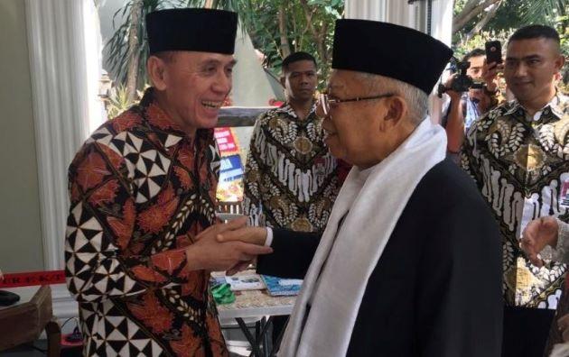 Kiai Ma'ruf Amin: Idul Fitri Momentum Kembali pada Kebaikan