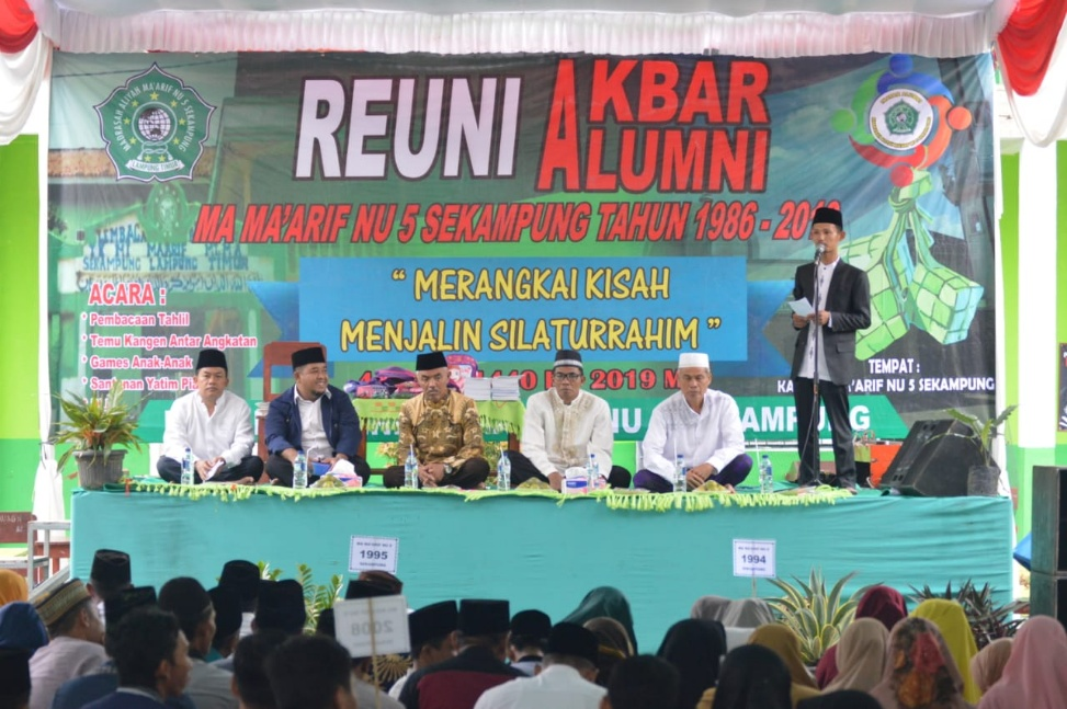 Perkuat Militansi, Alumni Ma'arif NU Harus Perkuat Ukhuwah