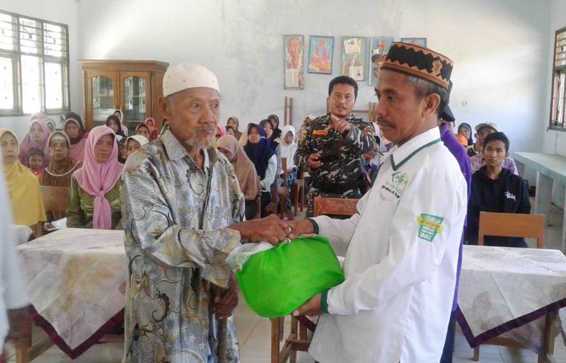 Setelah Ramadhan Salurkan Donasi, LAZISNU Lasem Gelar Lebaran Bareng Yatim