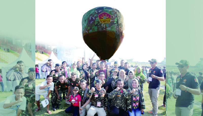 Festival Balon Udara, Banser Pekalongan Pilih Jadi Peserta