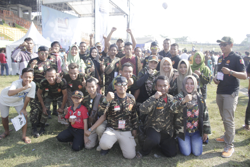 Banser Pekalongan Raih Juara pada Festival Balon Udara