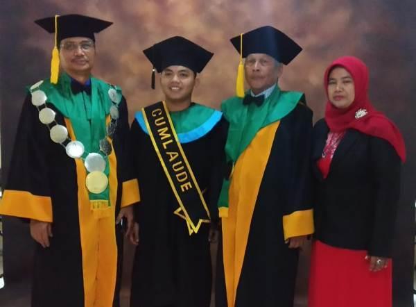 Kader PMII Banten, Lulusan Terbaik UIN Sultan Maulana Hasanudin