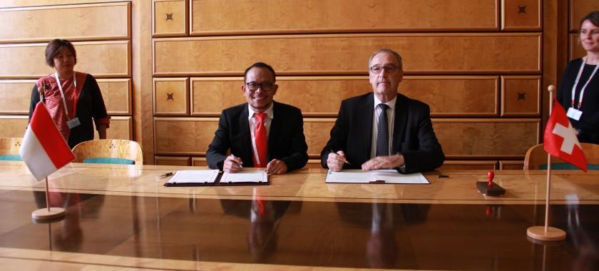 Indonesia-Swiss Jalin Kerja Sama Bidang Ketenagakerjaan