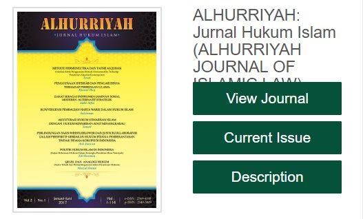 Pengembangan Alhurriyah Menuju Jurnal Terakreditasi Nasional