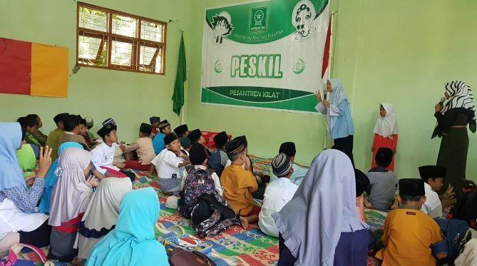Libur Sekolah, Fatayat  NU Pulutan Salatiga Gelar Pesantren Kilat
