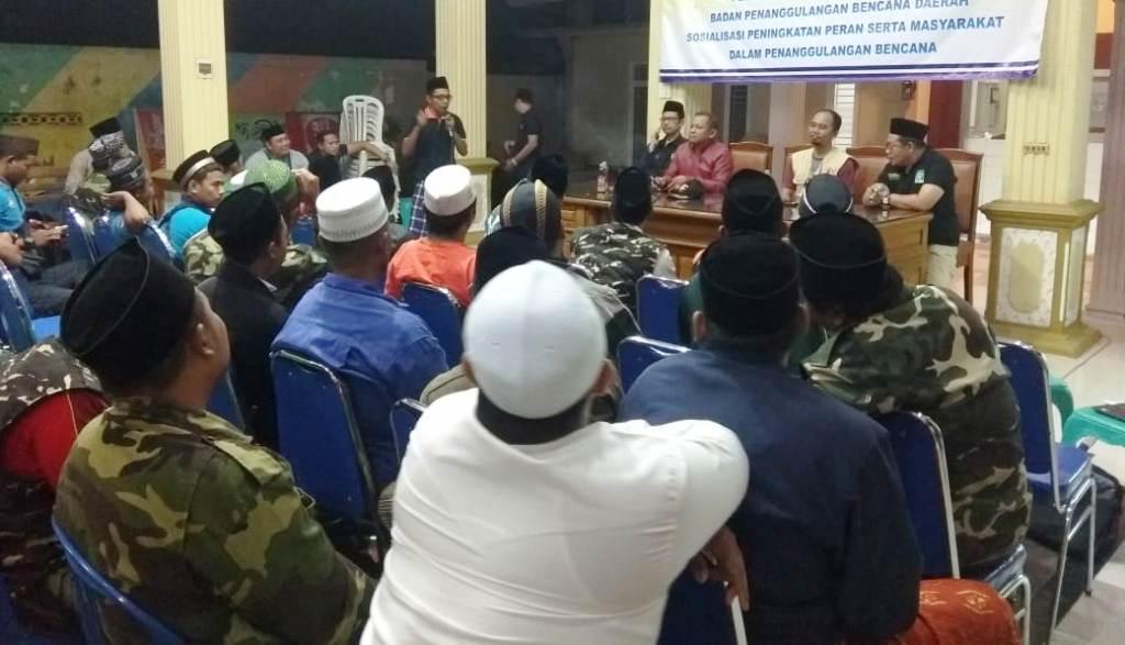 NU Kabupaten Pasuruan Miliki Relawan Bencana Hingga Kecamatan