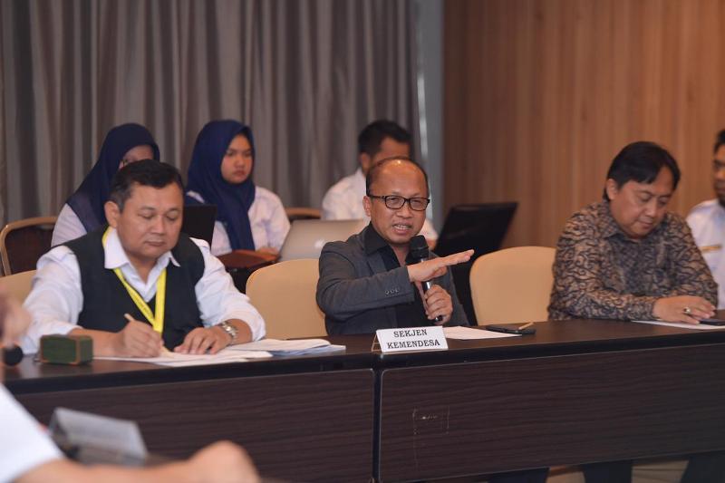 Kemendes Gagas Penguatan Sistem Pengawasan Dana Desa Berbasis Kolaboratif