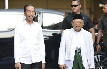 KPU Tetapkan Jokowi-Ma'ruf Amin Presiden-Wapres 2019-2024