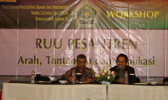 Workshop Kemenag Bahas Pentingnya RUU Pesantren