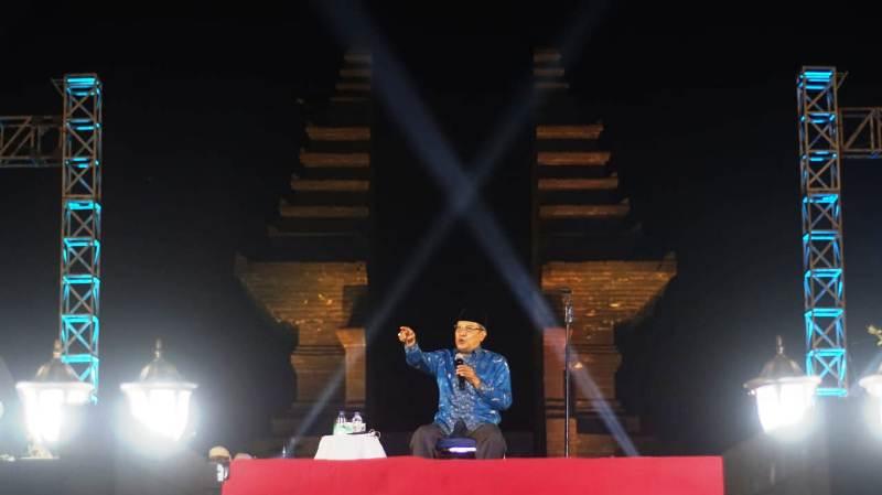 Tutup Rakornas Lesbumi, Kiai Said Harap Seni NU Diakui Dunia