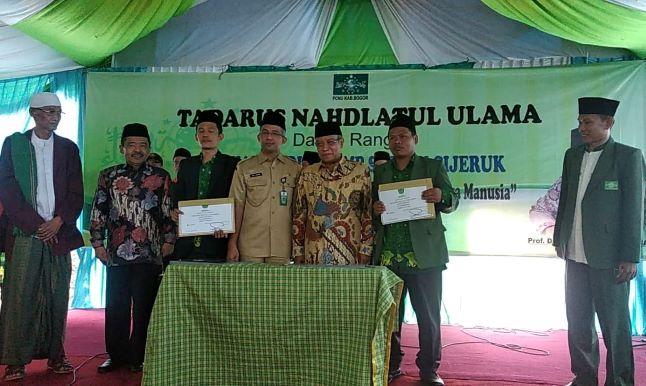 Pesan Kiai Said Saat Resmikan Gedung SMP-SMK NU Cijeruk, Bogor
