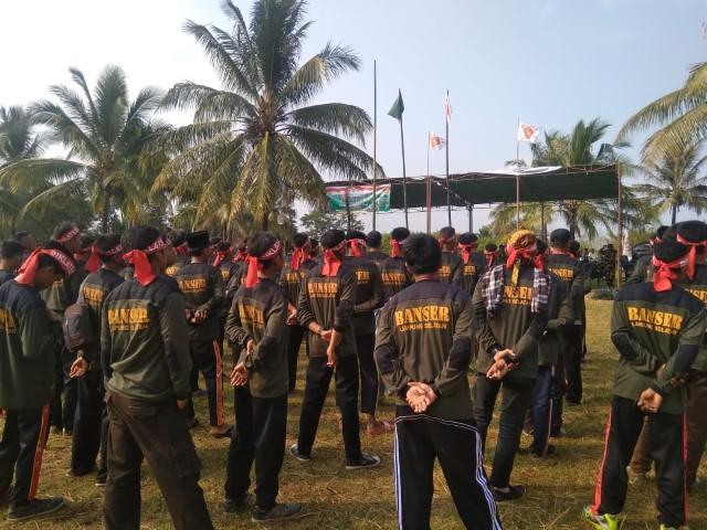 Diklatsar Lampung Selatan, Kasatkorwil Lampung Tekankan Empat Karakter Banser