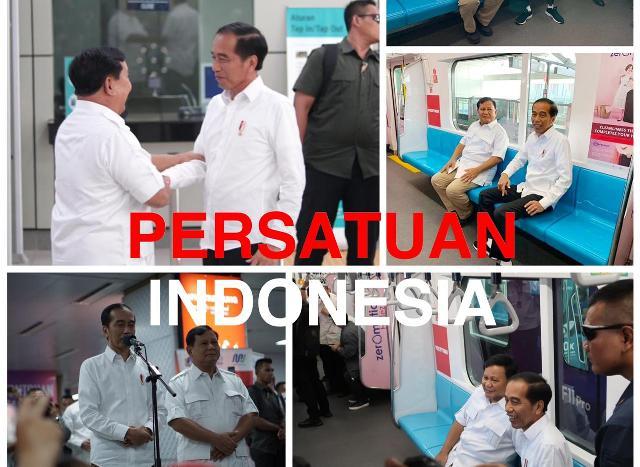 Jokowi dan Prabowo Bertemu, Tagar #03PersatuanIndonesia Menggema