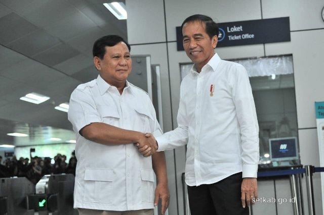 Pertemuan Jokowi-Prabowo, GP Ansor: Semua Wajib Bersyukur