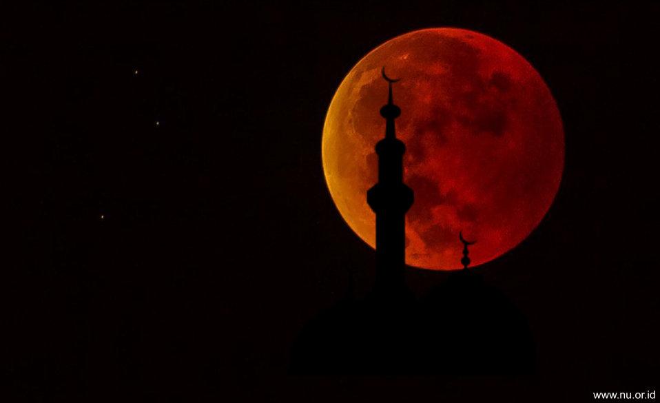 Malam Ini Gerhana Bulan Sebagian, Waktu Tepat Shalat Gerhana